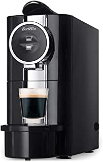 Barsetto Single Serve Espresso 0.7 Litres Coffee Machine, LED Digital Control, Diswasher Safe and Drip Tray, Latte and Cap...