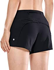 Feathery-Fit is a soft and ultralight fabric,quick-drying, soft to touch and highly durable. 4 inches workout shorts with interior drawcord inside knit waistband for a perfect fit. Athletic shorts with inner lining helps prevent rubbing and chafing, ...