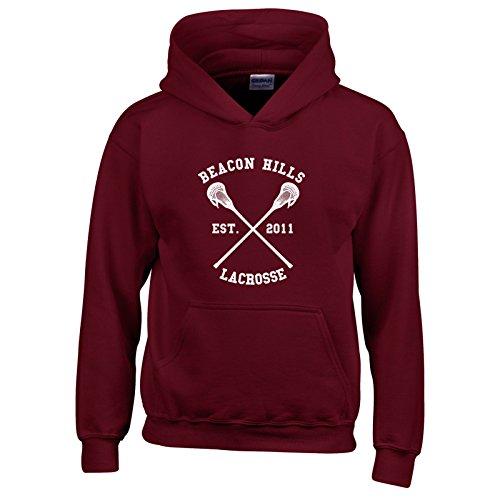 Beacon Hills Lacrosse Hoodie Wolf 24 Teen Stilinski - Large - Stilinski 24