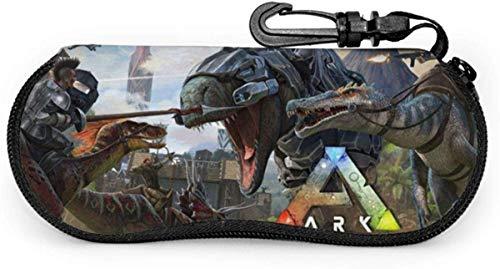 Ark Survival Evolution Poster Ultraleichte tragbare Brille Schutzbox Sonnenbrille mit Karabiner