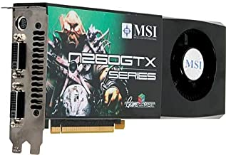 MSI N260GTXT2D896 MSI N260GTX-T2D896-OCv4 GeForce GTX 260 896MB 448-Bit DDR3 PCI Express