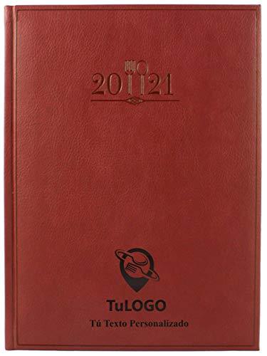Libro de Reservas 2021 Personalizable. 768 páginas. Entrega en 24 Horas. Dos páginas por día. Tapa dura Símil Piel alta calidad