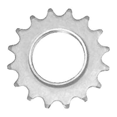 State Bicycle Co. Fixed Gear/Fixie Bike Cog, Silver (15T)