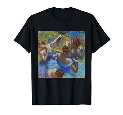 Bailarina de Edgar Degas en azul | impresionismo del ballet Camiseta
