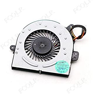DBTLAP Ventilador de la CPU del Ordenador port/átil para ASUS X50 X50Z X50M X50Q X51 X53 F5R F5V F5VL F50 F50S X59 X59S X59SL X59GL X61S X61 X61W n60d Ventilador 4pin