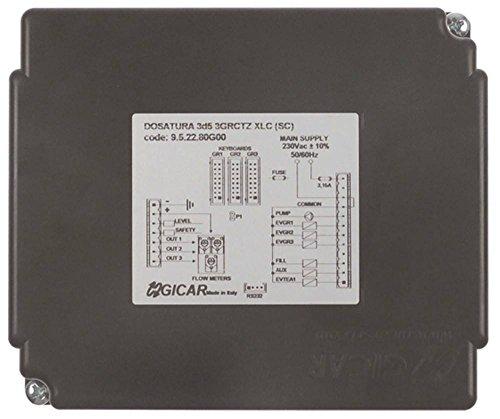 GICAR 3d5 Dosierelektronik für Kaffeemaschine BFC ssica-2-3-4gr, Grandoge-2-3gr, Antea-2gr 3-gruppig 50/60Hz DPG 96 C 230V AC AC