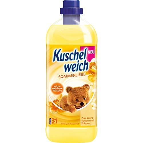 6er Vorratspack Kuschelweich Weichspüler 1000ml Sommerliebe (6 * 1000ml)