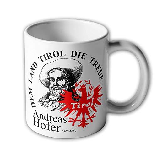 Tasse Tirol Andreas Hofer Dem Land die Treue Südtirol Freiheit Andenken #33539