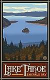 Northwest Art Mall 27,9x 43,2cm Poster Lake Tahoe