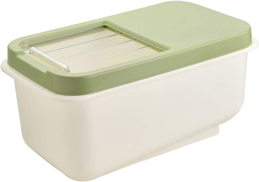 LKYBOA Kitchen 10kg Rice Container Nippon regular agency Special sale item Storage Box Grain Cereal