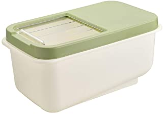 WZHZJ Cuisine 10 kg conteneur de Riz boîte de Rangement de Riz à Grains boîte de conteneur de céréales boîtes de Farine sc...
