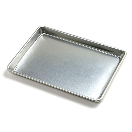 Norpro Jelly Roll Baking Sheet, Aluminum, 12 inches x 9 inches x 1 inches