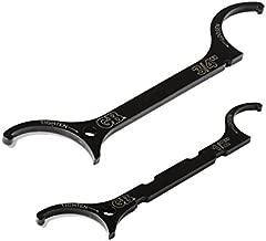 Gardner Bender LNW-KIT Locknut Wrench Kit, ½ & ¾ Inch., Loosen / Tighten locknuts, Steel Construction fits UL locknuts, 2 Pk. Bundle, Black
