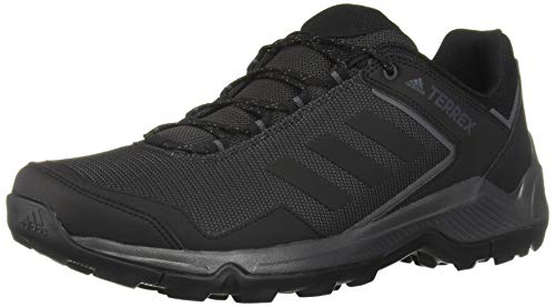 adidas Men's Terrex Eastrail Hiking Shoes, Carbon/Black/Grey, 10 D US