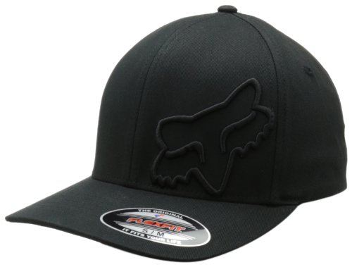 Fox Herren Flexfit Cap 45 Flex, Black, S/M, 58379-001
