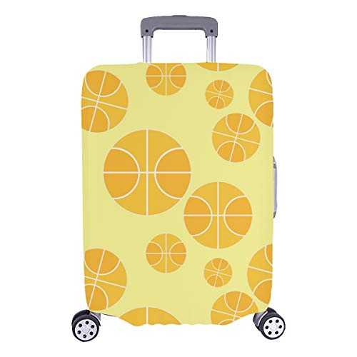 Luggage Covers For Kids Basketball Healthy Strong Sport Durable Washable Protecor Cover Fits 28.5 X 20.5 Inch Women Luggage Cover Luggage Hard Cover Best Luggage Cover
