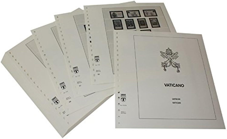 Lindner T Vordruckbltter T172 79 Vatikan - Jahrgang 1979 bis 1994