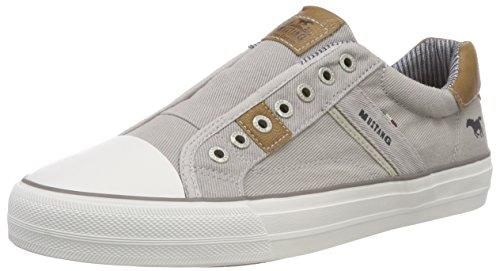 MUSTANG Herren 4127-401-22 Slip On Sneaker, Grau (hellgrau), 44 EU
