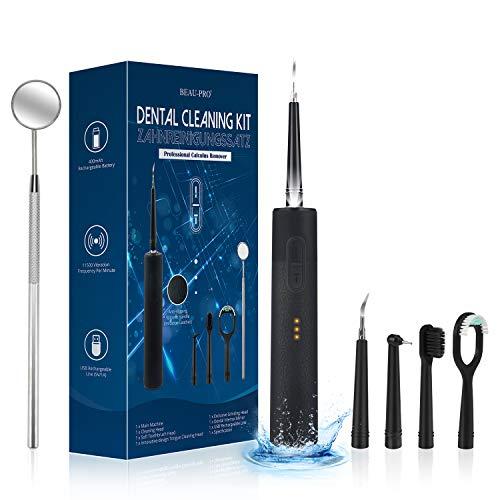 Sarro Dental Limpiador,limpieza dental ultrasónica BEAU-PRO,quita sarro dental,cálculos,placa y manchas dentales,sarro...