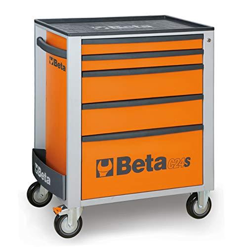 Beta 024002051 - C24S/5-O-Cajonera Móvil 5 Cajones Orange