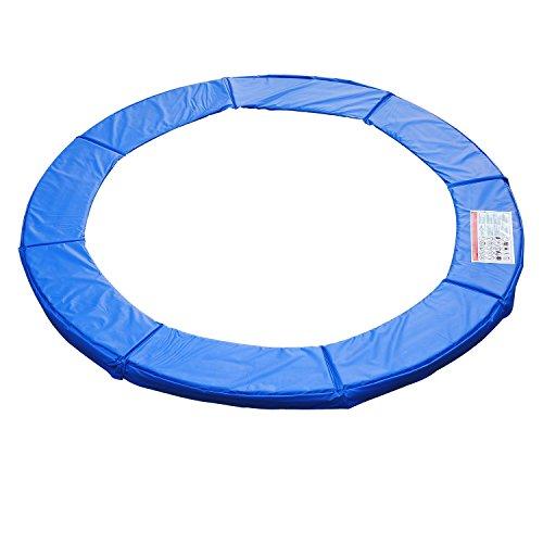 HOMCOM Cubierta de Proteccion Borde Cama Elastica y Trampolines, diametro ø 366, Color Azul