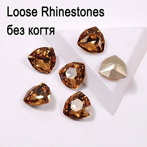 COPP Topas Colorado helder op strasssteentjes K9 kristalkristallen vet trilling op positie, accessoires voor doe-het-zelf sieraden