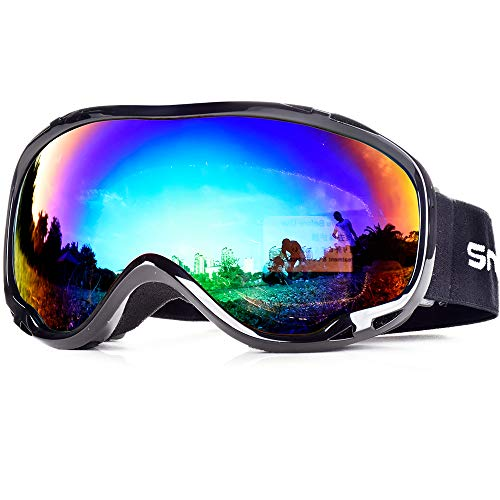 Snowledge Skiing Snowboard Goggles with UV400 Protection, OTG Ski Snow...