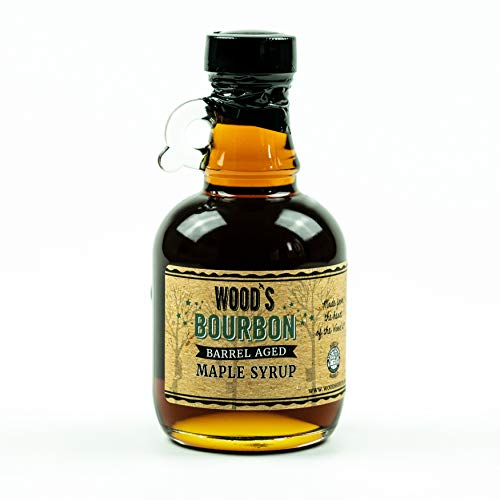 Woods Vermont Maple Syrup Bourbon Barrel Aged 845 Ounce