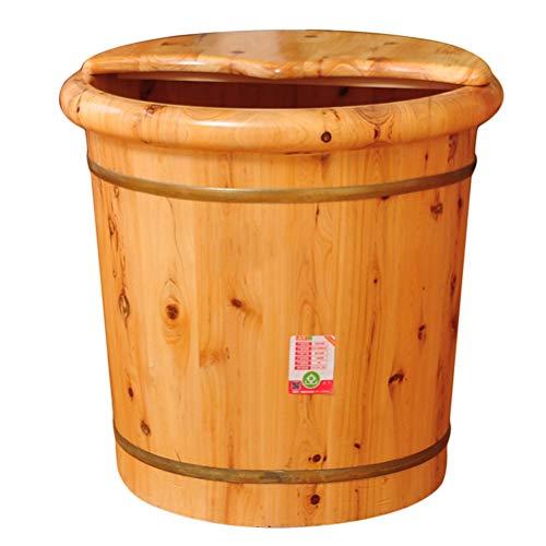 Great Features Of Deep Foot Spa Bath, Deep Cedar Foot tub, Wooden Foot Basin, Pedicure Bowl Massage ...