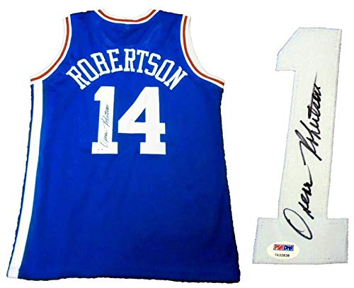 Oscar Robertson Autographed Cincinnati Royals Jersey (PSA) - Autographed NBA Jerseys