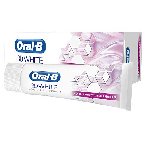 Oral-B Dentífrico 3D White Whitening Therapy, Dientes Sensibles - 75 ml
