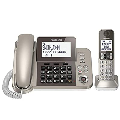 PANASONIC Corded / Cordless Phone with Link2Cell Bluetooth and Answering Machine from Panasonic
