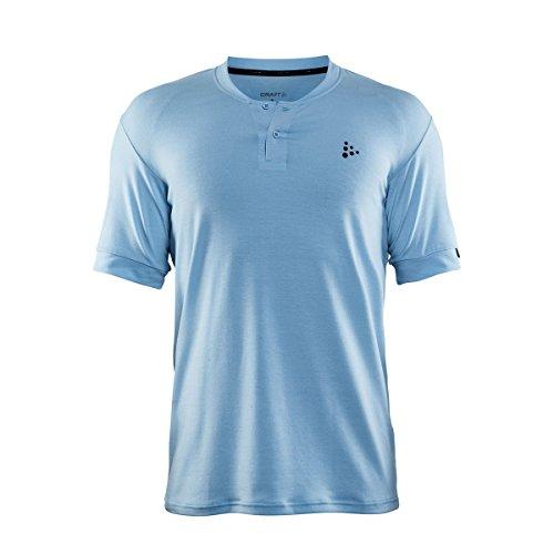 Craft pour Homme Ride Jersey Polo M, Hommes, Ride Polo M Large Bleu Ciel