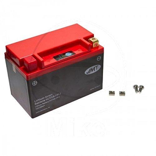 JMT LITHIUM-IONEN Motorrad Batterie 12 Volt YTX9-BS, YTR9-BS   LiFePO4   HJTX9-FP passend für Yamaha YP 250 R X-Max Sport, 37P5, SG224, Bj. 2011 [Preis ist inkl. Batteriepfand]