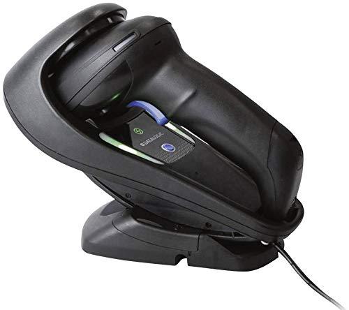 Lecteur de code-barres Datalogic Gryphon I GM4500 GM4500-BK-433K1 radio 1D, 2D imagerie noir scanner à main USB, radio 4