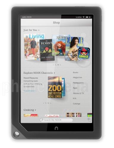 "NOOK HD+ BNTV600 Barnes & Noble 9"" 16GB Wi-Fi Color Tablet Slate"