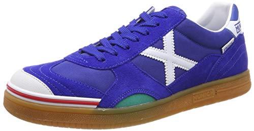 Munich Gresca, Zapatillas de fútbol Unisex Adulto, Azul (Azul Royal 03), 42