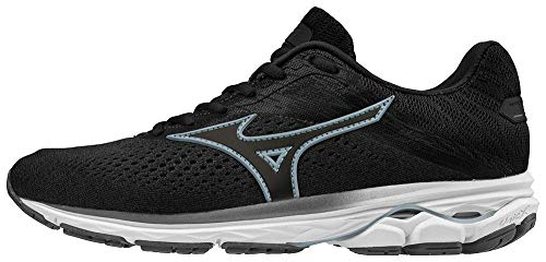 Mizuno Women's Wave Rider 23 Running Shoe, Dark Shadow, 7 B...