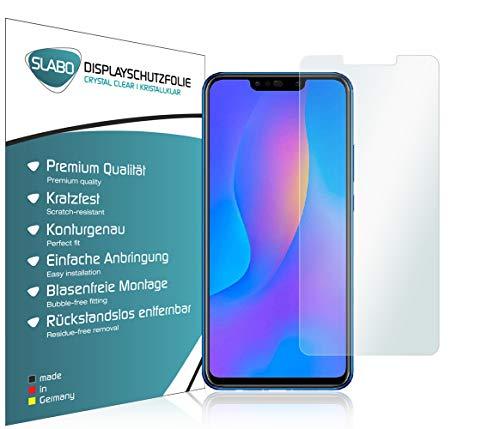 Slabo 4 x Bildschirmschutzfolie für Huawei Nova 3 | Nova 3i Bildschirmfolie Schutzfolie Folie Zubehör Crystal Clear KLAR