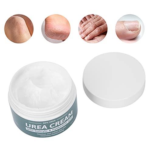 Crema de urea, 120g Crema de urea hidratante para talones para reparar pies para mujeres y niñas