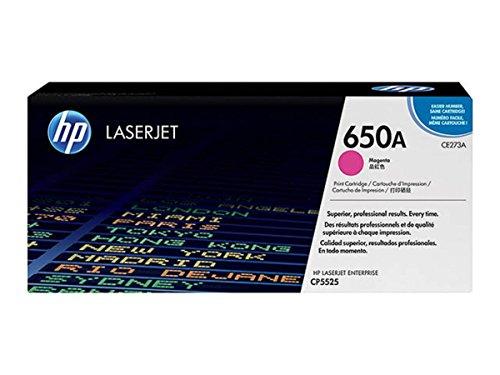 HP Hewlett Packard Color LaserJet Enterprise CP 5525 XH 650A CE 273 A original Toner magenta 15000 Seiten