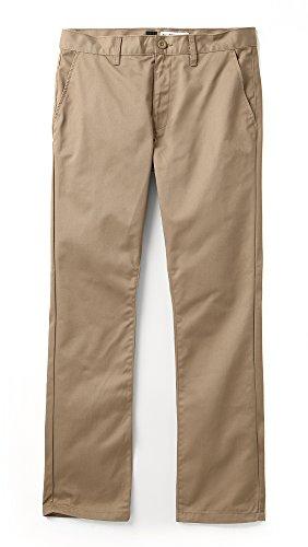 RVCA Men's Week-End Pants Dark Khaki 33