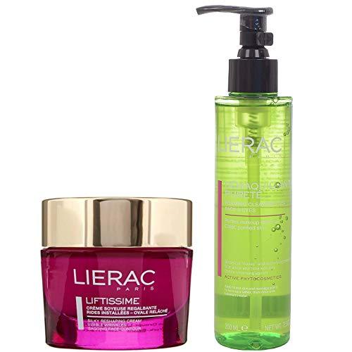 Liftissime von Lierac seidige Reshaping-Creme 50 ml + schäumendes Reinigungsgel 200 ml