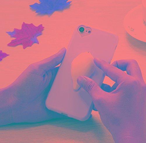 Caja Protectora de Ajuste Delgado Resistente a los For 3D Blanca Leones Marinos Patrón Squeeze Alivio Blando Dropproof Protectora del Caso de la HBDZ iPhone 6 Plus y Plus 6s