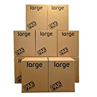 StorePAK Large Storage Boxes - Archive Cardboard Boxes with Handles, 116 Litres - 100% Recyclable - ...