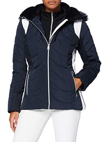 ICEPEAK Damen LUHTA EMBOM Jacke, dunkel blau, 36