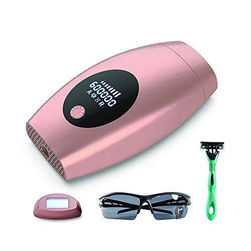 Laser-Haarentfernung Permanent Painless Professionelle Epilierer IPL Haarentfernung Ausrüstung 600000 Flashen - für Gesicht/Achsel/Arm/Brust/Rücken/Bikini-Linie