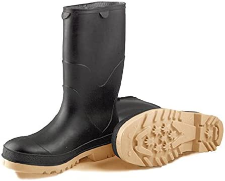 STORMTRACKS 11714.13 Youths' Boot, Size 13, Black/Tan