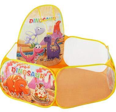 XuBa - Bola para niños con Dinosaurio para Interiores de 1,2 m para Baloncesto, aro, Tienda de campaña para alberca