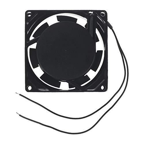 Tranquilo Eliminación De Calor 80 X 80 X 25 Mm Exchange 220-240V Fan del Enfriador Axial Fácil de Transportar e Instalar (Blade Color : Black)